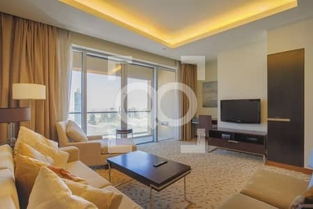 1 Bedroom Apartment for Rent in Downtown Dubai, Dubai - HIGH FLOOR\ DIRECT ACCESS TO DUMAI METRO AND MALL\FURNISHED