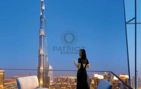 2 Bedroom Flat for Sale in Downtown Dubai, Dubai - Exclusive 2 BR  Apt | High Floor| Full Sea View