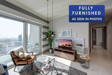 2 Bedroom Apartment for Rent in Dubai Marina, Dubai - Stylish Apartment| Furnished | City View