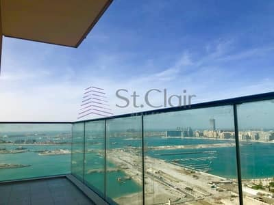 1 Bedroom Flat for Rent in Dubai Marina, Dubai - Unfurnished Full Sea View in Cayan Tower