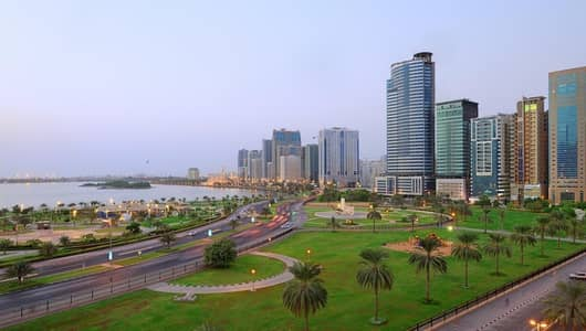 2 Bedroom Apartment for Sale in Al Majaz, Sharjah - للبيع شقة في افضل مواقع الشارقة
