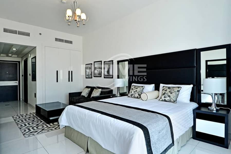 Good Price for  Fully Furnished Studio Apt Rented
