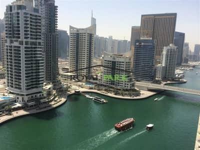 2 Bedroom Flat for Rent in Dubai Marina, Dubai - FULL MARINA VIEW - 2BR In Bonaire Park Island Dubai Marina