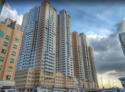 1 Bedroom Flat for Sale in Al Sawan, Ajman - 1bhk city view closed kitchw with parking in Ajman one tower