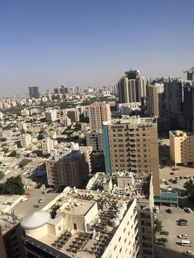 1 Bedroom Flat for Sale in Al Sawan, Ajman - 1 bhk biggest size partial city view for sale in Ajman one