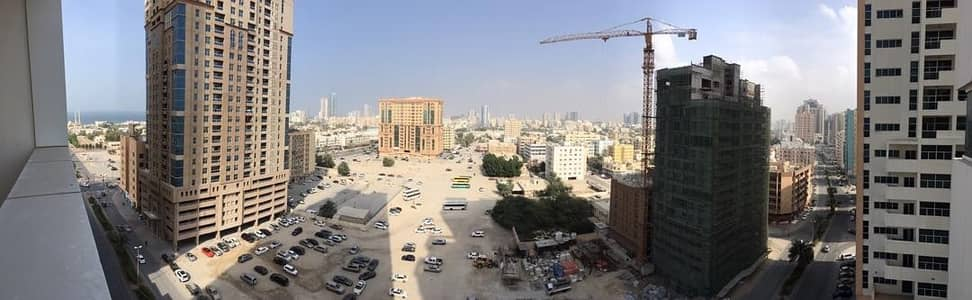 1 Bedroom Apartment for Rent in Al Sawan, Ajman - 1 bhk closed kitchen open  view  in Ajman one tower