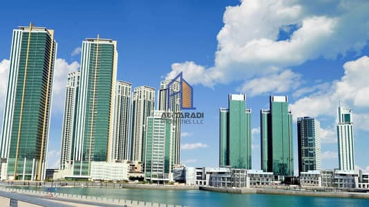 1 Bedroom Flat for Rent in Al Reem Island, Abu Dhabi - High floor one bedroom apartment Ocean terrace