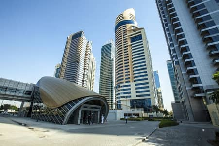 2 Bedroom Flat for Rent in Jumeirah Lake Towers (JLT), Dubai - 2 bedroom with lake view available for rent