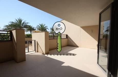 3 Bedroom Townhouse for Rent in Al Raha Beach, Abu Dhabi - Amazing Townhouse with pool & sea view.