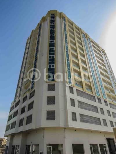 مبنى سكني تجاري , ارضي + 3 طوابق مواقف سيارات + 10 طوابق متكرره