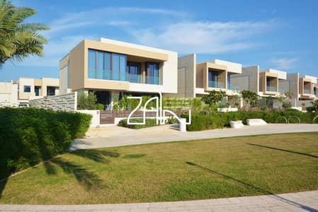 4 Bedroom Villa for Sale in Saadiyat Island, Abu Dhabi - Garden View 4 BR Villa in Great Location