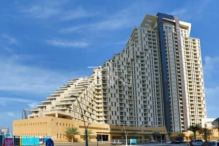 2 Bedroom Apartment for Sale in Al Reem Island, Abu Dhabi - Hot Deal Furnished 2 BR Sea View 14% ROI