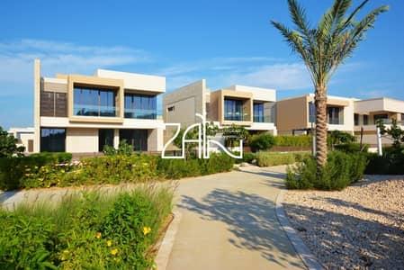 4 Bedroom Villa for Rent in Saadiyat Island, Abu Dhabi - Beautiful 4 BR  with Landscaped Garden