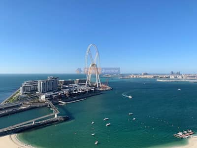 2 Bedroom Apartment for Rent in Jumeirah Beach Residence (JBR), Dubai - Best view in the whole JBR