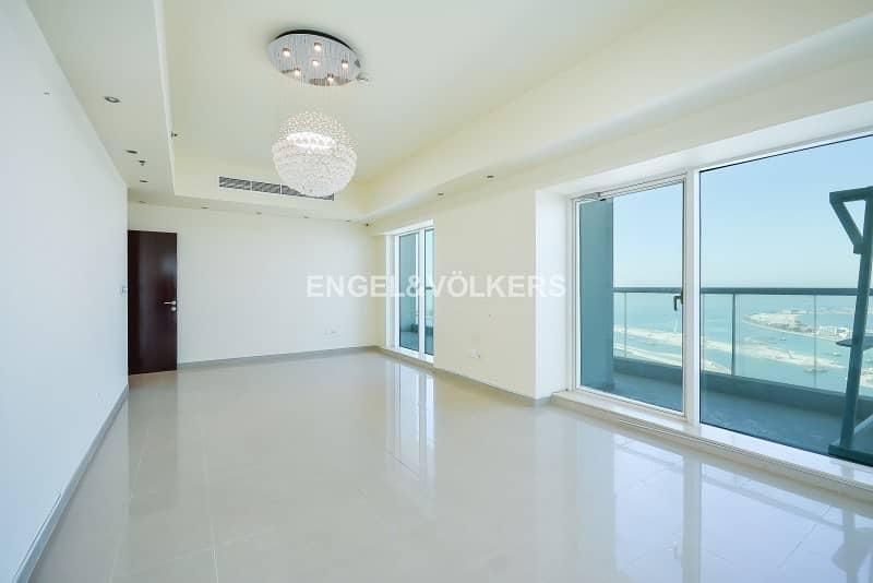 Top Floor 4BR+Maid Atlantis & Palm Views