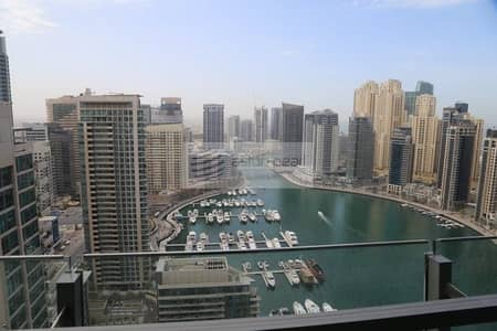 1 Bedroom Apartment for Rent in Dubai Marina, Dubai - Ultra Modern Layout 1BR with Marina View