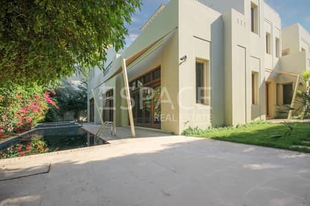 5 Bedroom Villa for Rent in Al Barari, Dubai - Vacant - High Ceilings - Modern Finishing
