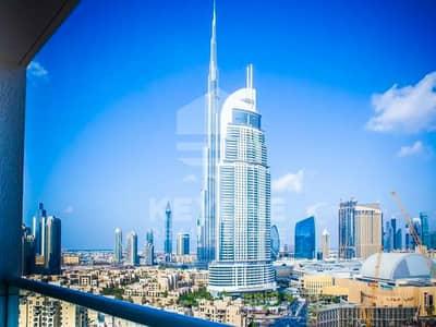 Studio for Rent in Downtown Dubai, Dubai - Burj Al Nujoom   Studio with Balcony   4 Cheques
