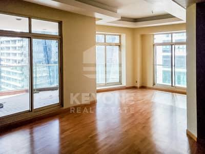 3 Bedroom Apartment for Rent in Dubai Marina, Dubai - Spacious 3BR Plus Maid Apt | Marina View