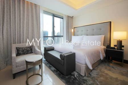 Studio for Rent in Downtown Dubai, Dubai - Superb Address Downtown Furnished Studio