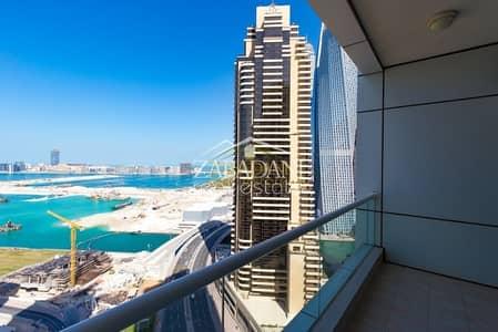 2 Bedroom Apartment for Rent in Dubai Marina, Dubai - Full Sea View Two Bedroom | High Floor | Dubai Marina