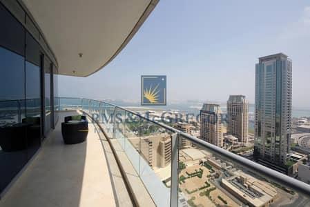 3 Bedroom Flat for Rent in Dubai Marina, Dubai - Sea view | 3 bedrooms | High end Finishing