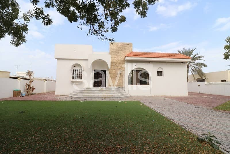 1 Spacious three bedroom villa in Al Ghafeya