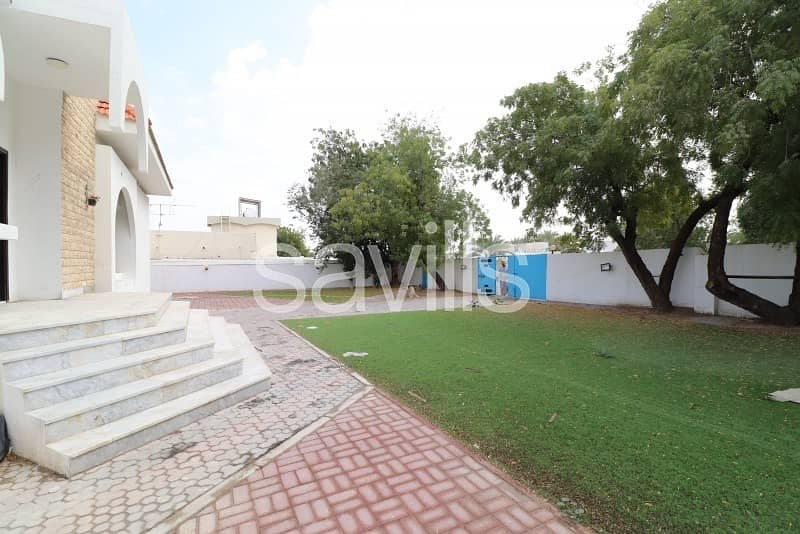 13 Spacious three bedroom villa in Al Ghafeya