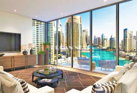 Studio for Sale in Dubai Marina, Dubai - 9% ROI with Sea/JBR Views LIV Residences