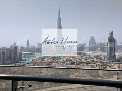 2 Bedroom Flat for Rent in Downtown Dubai, Dubai - Amazing 2 bed | Burj Khalifa View | 120