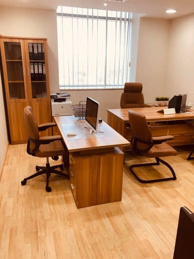 Office for Rent in Al Karama, Dubai - AED 25,000/Independent Serviced offices in Mussalla tower/Al Fahidi Metro/No Commission