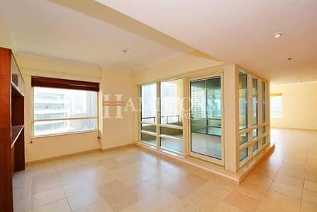 3 Bedroom Flat for Rent in Dubai Marina, Dubai - Full Marina View 3BR + M in Al Sahab 2