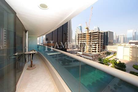 1 Bedroom Apartment for Sale in Jumeirah Lake Towers (JLT), Dubai - Large 1BR + Balcony in Concorde Tower