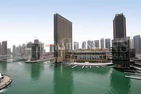 2 Bedroom Apartment for Sale in Dubai Marina, Dubai - 2BR Duplex Marina View | Marina Quay North
