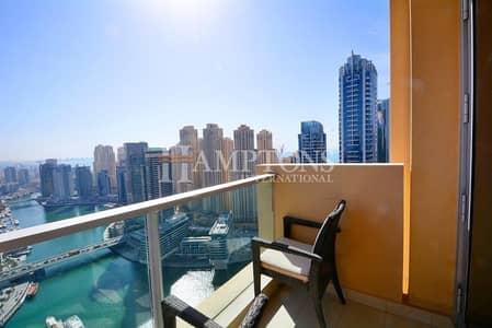 2 Bedroom Flat for Sale in Dubai Marina, Dubai - Furnished 2BR - The Address Dubai Marina