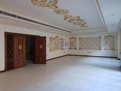 6 Bedroom Villa for Rent in Al Karamah, Abu Dhabi - 6+M villa w/ Driver Rm |Garden|5 Parking