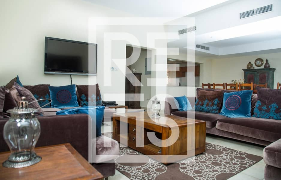 Furnished spacious 3BR Townhouse for Rent