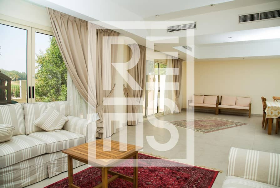 3BR Townhouse with Big Kitchen in Al Hamra Village for Rent