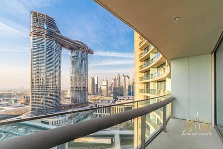 1 Bedroom Apartment for Sale in Downtown Dubai, Dubai - 1 B/R | HIGH FLOOR | SEA VIEW | VACANT