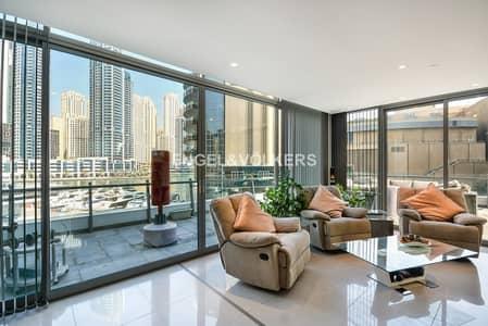 4 Bedroom Penthouse for Sale in Dubai Marina, Dubai - Modern | High-end finishing | Marina view