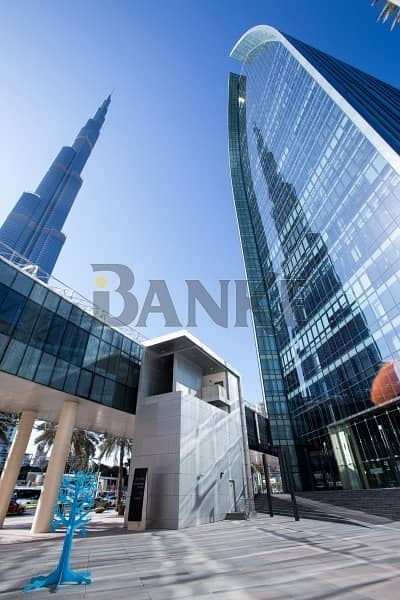 Office for Sale in Downtown Dubai, Dubai - Fitted office | Boulevard Plaza | Burj and DIFC view