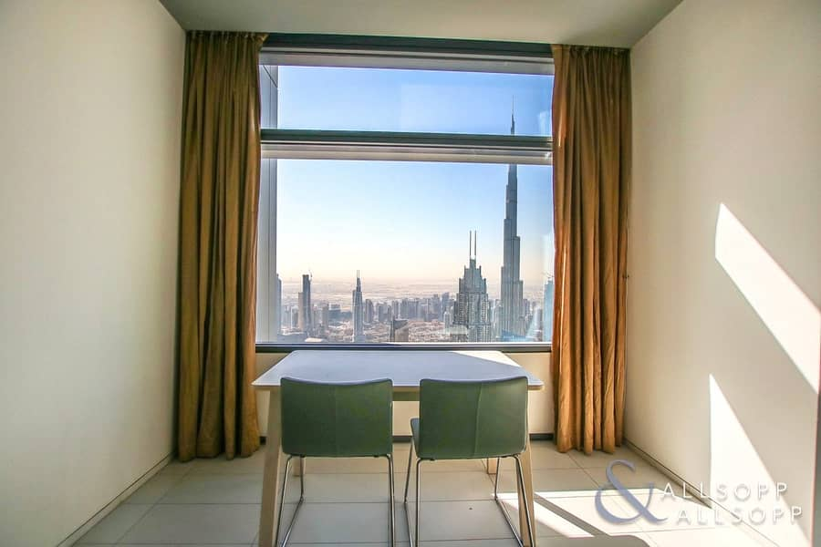 Full Burj Khalifa View | Three Bedroom