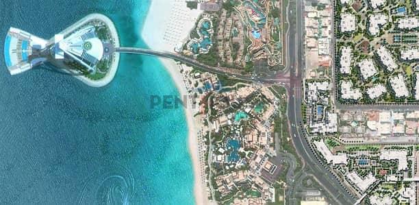 2 Bedroom Flat for Sale in Umm Suqeim, Dubai - Lamtara 2 Bedroom In The Project I Burj Al Arab View