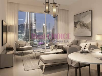 1 Bedroom Apartment for Sale in Downtown Dubai, Dubai - Middle Floor 1BR|Investment Opportunity