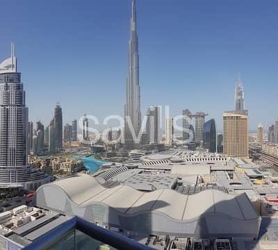 1 Bedroom Apartment for Rent in Downtown Dubai, Dubai - High Floor | Fully Furnished | Burj Khalifa View
