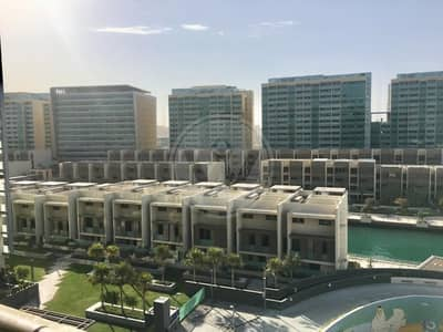 2 Bedroom Flat for Rent in Al Raha Beach, Abu Dhabi - Immaculate|Partial sea & full canal view