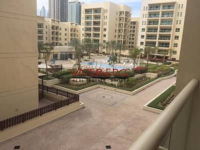 1 Bedroom Apartment for Rent in The Greens, Dubai - Well kept 1BR with Pool View