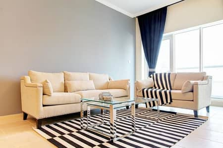 2 Bedroom Flat for Rent in Downtown Dubai, Dubai - Exclusively furnished 2 Bedroom on the Bouleward