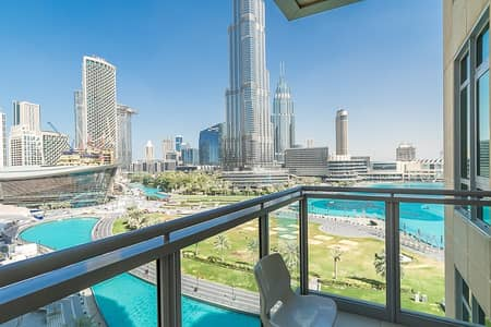 2 Bedroom Flat for Sale in Downtown Dubai, Dubai - Best View Corner Apartment -Great Layout