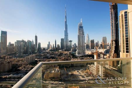 2 Bedroom Flat for Rent in Downtown Dubai, Dubai - Two Bedrooms | Two Balcony's | Available